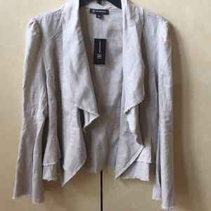 NWT INC Linen Jacket